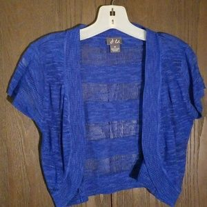 Sweaters - Blue ladies cardigan